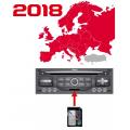 Citroen MyWay Europe 2018-2 SD Card