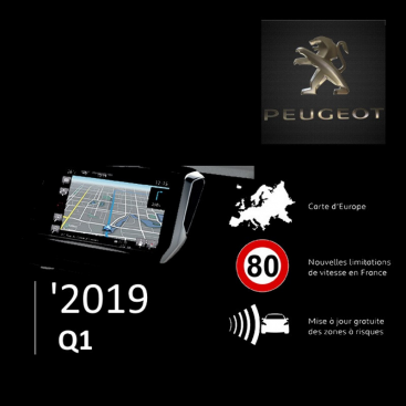 Peugeot Full Europe 2019-1 Digital Map | eMyWay