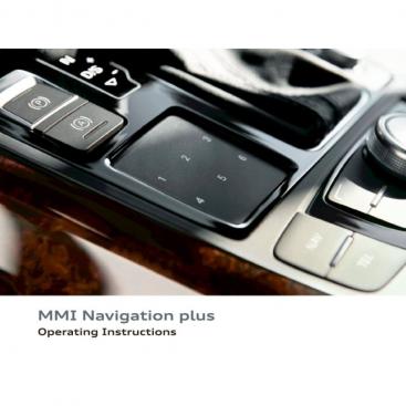 MMI Navigation Plus user guide