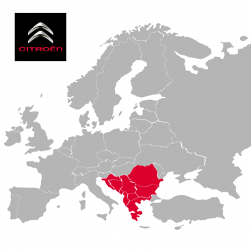 Citroen South East Europe 2019-1 Digital Map | eMyWay