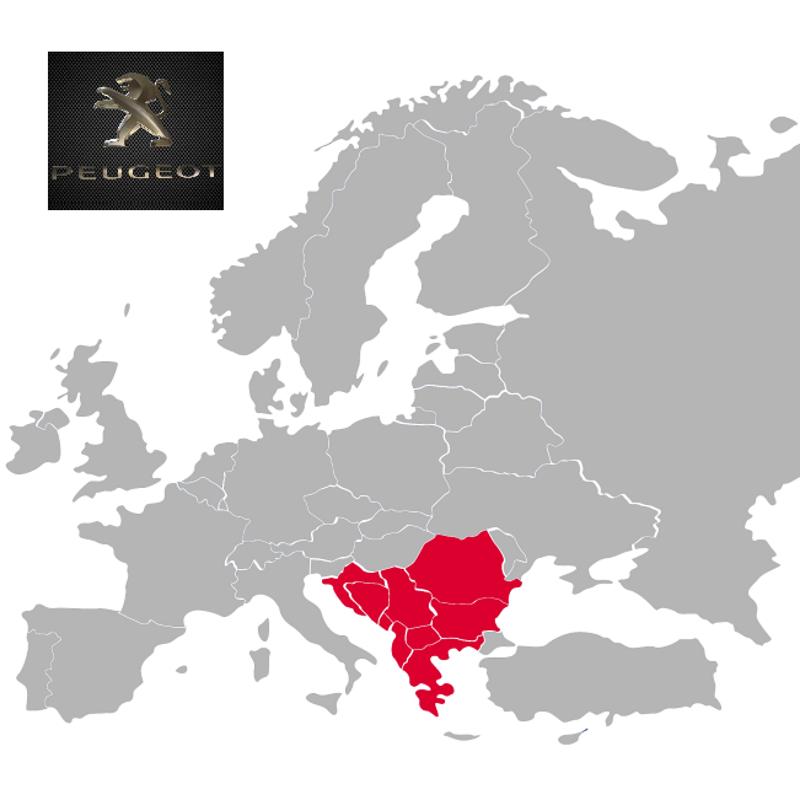 Peugeot South East Europe 2019-1 Digital Map | eMyWay