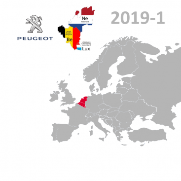 Peugeot Benelux Dutch, 2019-1 Digital Map | eMyWay