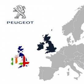 Peugeot Great Britain & Ireland 2019-1 Digital Map | eMyWay