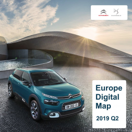 Citroen Full Europe 2019-2 Digital Map | eMyWay