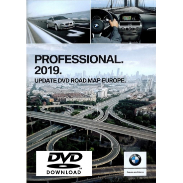 BMW Eastern Europe map 2019 Professional CCC