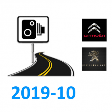 Peugeot / Citroen Speedcams Europe 2019-10