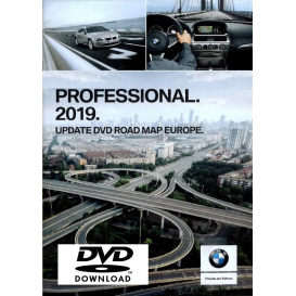 BMW Western Europe map 2019 Professional CCC