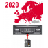 Citroen Navigation Map 2020-2: West Central Europe, SD Card