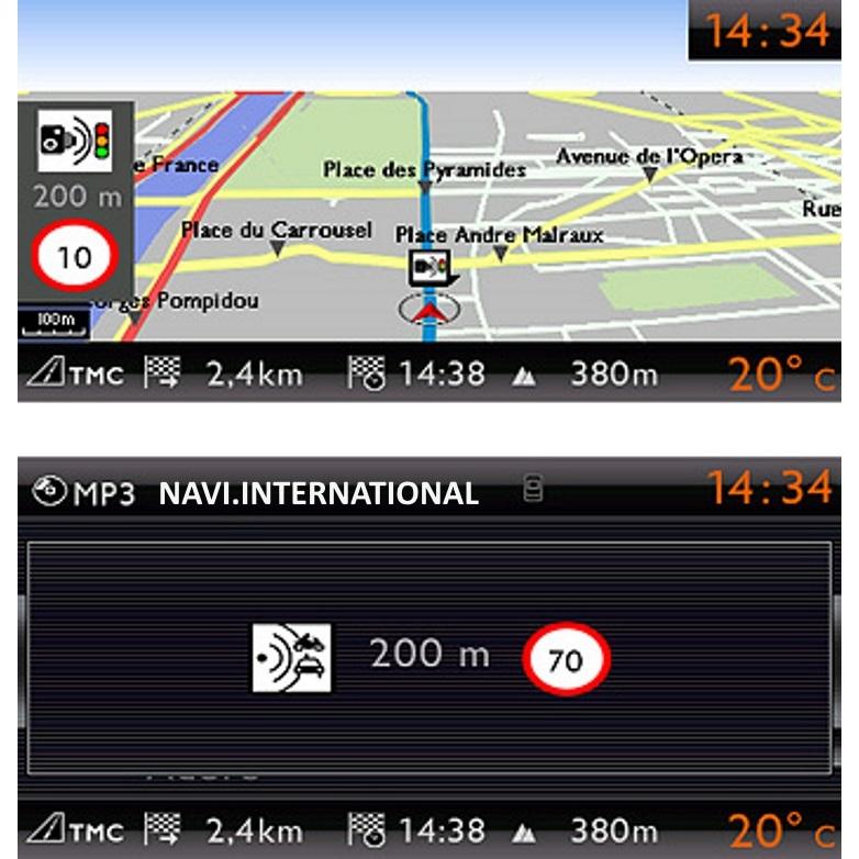 Citroen MyWay / Peugeot Wip Nav RNEG Becker 2018 maps download